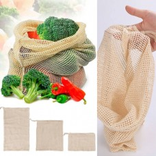 Экомешочек сетчатый для овощей и фруктов
