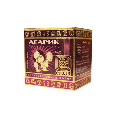 Гриб Агарик водорастворимая форма 30 пакетиков по 1 гр.