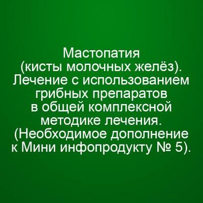 Мини Инфопродукт №15