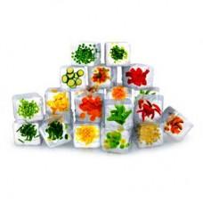 Замороженные ягоды, овощи и грибы