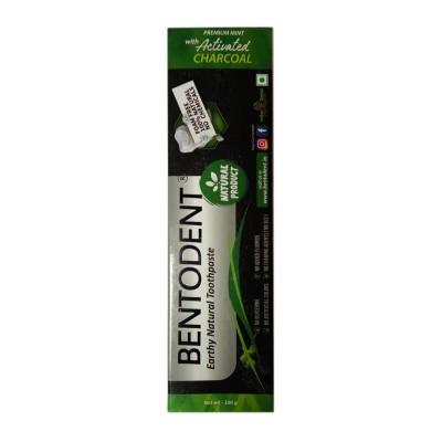 Паста зубная Bentodent - Активированный уголь
