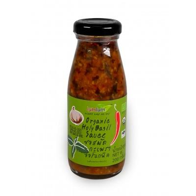 Органический соус с тайским базиликом
