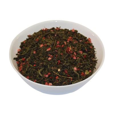Иван-чай с клубникой молекулярной сушки
